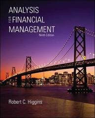 Analysis for Financial Management with S&amp.P bind-in card 9th edition 9780077297657 0077297652