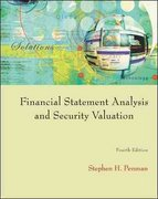 Financial Statement Analysis and Security Valuation 4th edition 9780073379661 0073379662