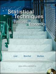 Statistical Techniques in Business & Economics 14th edition 9780073401768 0073401765