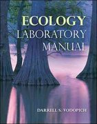 Ecology Lab Manual 1st Edition 9780073383187 007338318X