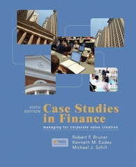 Case Studies in Finance 6th Edition 9780073382456 0073382450