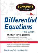 Schaum's Outline of Differential Equations, 3ed 3rd edition 9780071611626 0071611622