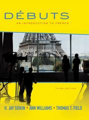 Débuts: An Introduction to French Student Edition 3rd edition 9780077415501 0077415507
