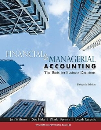 Financial & Managerial Accounting 15th edition 9780073526997 0073526991