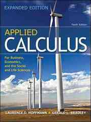 Applied Calculus for Business, Economics, and the Social and Life Sciences, Expanded Edition 10th Edition 9780077297886 0077297881