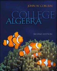 College Algebra 2nd edition 9780077276492 0077276493