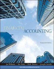 Financial Accounting 14th edition 9780073526980 0073526983