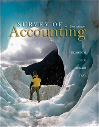 Survey of Accounting 2nd edition 9780073379555 0073379557