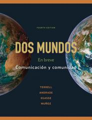 Dos mundos 4th edition 9780073385327 0073385328