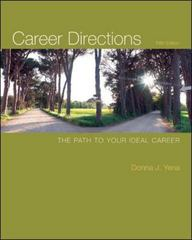 Career Directions 5th Edition 9780073375151 0073375152