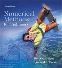 Numerical Methods for Engineers 6th edition 9780073401065 0073401064