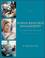 Human Resource Management 5th edition 9780073381435 0073381438