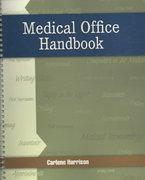 Medical Office Handbook 1st edition 9780073374130 007337413X