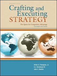 Crafting & Executing Strategy 17th edition 9780073530420 0073530425
