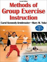 Methods of Group Exercise Instruction 2nd Edition 9780736075268 0736075267