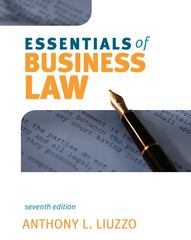 Essentials of Business Law 7th edition 9780073377056 0073377058