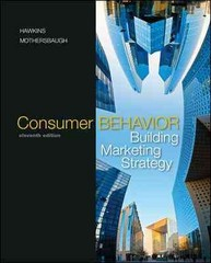 Consumer Behavior with DDB LifeStyle Study Data Disk 11th Edition 9780077294106 0077294106