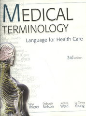 MP Medical Terminology 3rd Edition 9780077302344 0077302346
