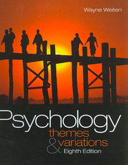 Psychology 8th edition 9781439001295 1439001294