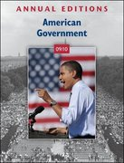 Annual Editions: American Government 09/10 39th edition 9780078127694 0078127696