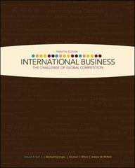 International Business 12th Edition 9780073381404 0073381403