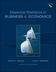 Essential Statistics in Business and Economics 2nd edition 9780073373652 0073373656