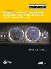 Diagnosis and Troubleshooting of Automotive Electrical, Electronic, and Computer Systems 5th edition 9780135066966 0135066964