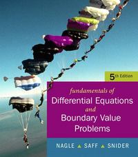 Fundamentals of Differential Equations with Boundary Value Problems with IDE CD (Saleable Package) 5th edition 9780321613219 032161321X
