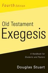 Old Testament Exegesis, Fourth Edition 4th Edition 9780664233440 0664233449