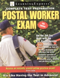 Postal Worker Exam 4th edition 9781576856758 1576856755