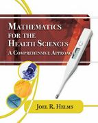 Mathematics for Health Sciences 1st Edition 9781435441101 1435441109