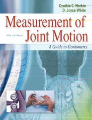 Measurement of Joint Motion 4th Edition 9780803620667 0803620667