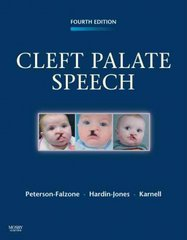 Cleft Palate Speech 4th Edition 9780323048828 032304882X