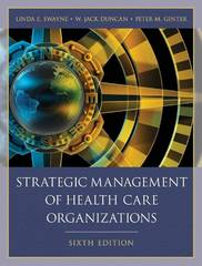 Strategic Management of Health Care Organizations 6th edition 9781405179188 140517918X