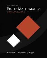 Finite Mathematics & Its Applications 10th edition 9780321571892 0321571894