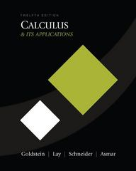Calculus and Its Applications 12th edition 9780321571304 0321571304