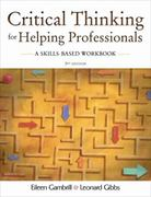 Critical Thinking for Helping Professionals 3rd edition 9780195330953 0195330951