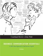 Business Communication Essentials 4th edition 9780136084419 0136084419