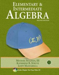 Elementary & Intermediate Algebra 2nd edition 9780321593092 032159309X