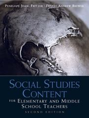Social Studies Content for Elementary and Middle School Teachers 2nd edition 9780137011254 0137011253