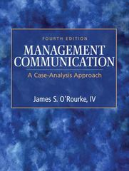 Management Communication 4th edition 9780136079767 0136079768
