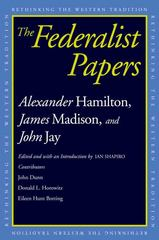 The Federalist Papers 0 9780300118902 0300118902