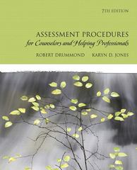 Assessment Procedures for Counselors and Helping Professionals 7th Edition 9780137152520 0137152523
