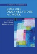 Cambridge Handbook of Culture, Organizations, and Work 1st edition 9780521877428 0521877423