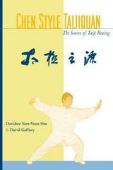 Chen Style Taijiquan 1st Edition 9781556433771 1556433778