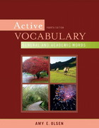Active Vocabulary 4th edition 9780205632732 0205632734