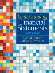 Understanding Financial Statements 9th Edition 9780136086246 0136086241