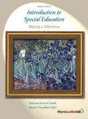 Introduction to Special Education 7th Edition 9780205600564 0205600565