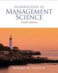Introduction to Management Science 10th edition 9780136064367 0136064361