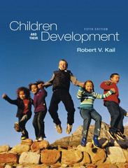 Children and Their Development 5th edition 9780205654154 0205654150